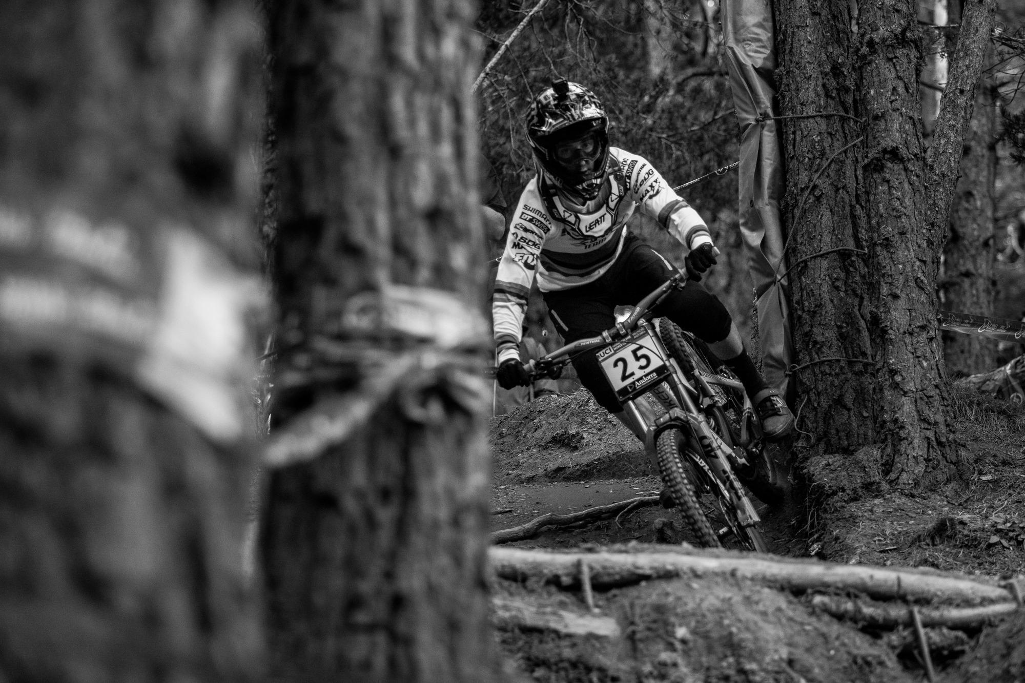 Danny Hart through the woods