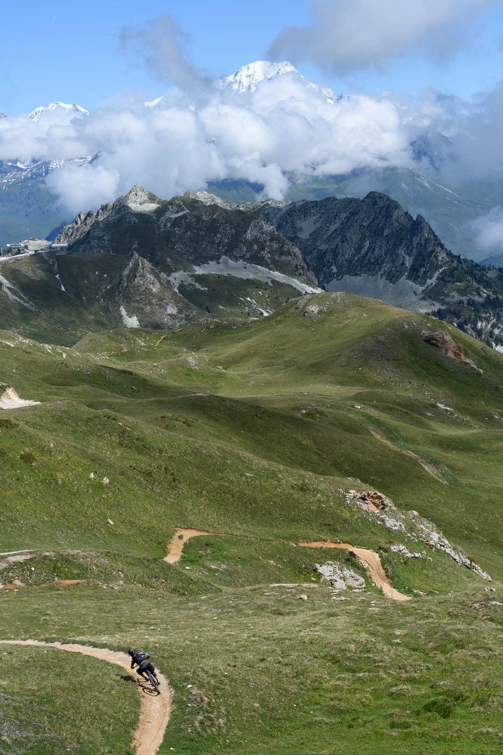 Vue imprenable sur le Mont Blanc
