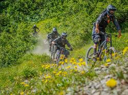 Bike patrols Chatel