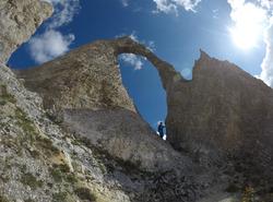 L'Arche de la Pointe percée 2800 m