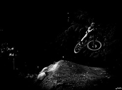 Cole Nichol in the dark !! Whistler