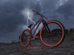 Lightning DJ bike