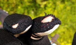 Dirt paw race glove